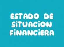 Estado de Situación financiera, balance general, estados financieros