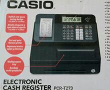 Caja registradora Casio PCR - T273