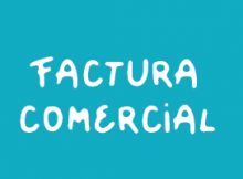 Factura comercial, modelo de commercial invoice
