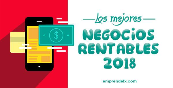 Negocios rentables 2018