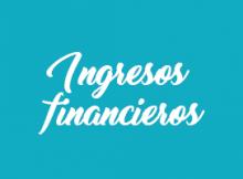 Ingresos Financieros