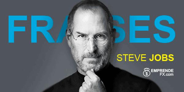 Frases de Steve Jobs cortas sobre sueños, tecnologia, motivación, superación.