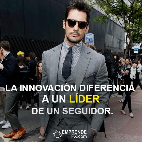 FRASES DE STEVE JOBS APPLE: La innovación diferencia a un líder de un seguidor.